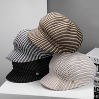 Fashion Octagonal Hat Female Sun Summer Sunshade Anti-sai Beret Bucket Stingy Brim Hats