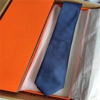 Мужские галстуки высокого качества 100% шелковый галстук мода 7,5 см Классическое издание мужское повседневная узкий быстрый корабль с коробкой