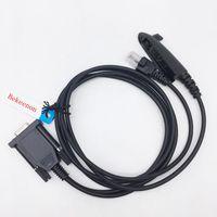Walkie Talkie COM 2 In 1 Muiltfunction Programming Cable For Motorola Ptx760 Pro5150 Gp328 Gp338 Gp340 Gm300 Gm950 Gm338 Gm140 Gm3188 Etc