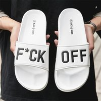 Men Slippers Unisex Bathroom Home Slides Male Couple Beach Sandals Fashion House Shoes Non-slip Flip Flops Size 36- TX161 211023