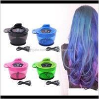 Профессиональная электрическая раскраска чаша MICATION MICE MICES для волос цвета смешивание PROF WMTEJW RIBS2 Щетки JB59X
