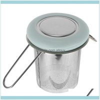 Mugs Drinkware Kitchen, Dining Bar & Gardenmugs 1Pc Stainless Steel Extra Fine Mesh Tea Strainer With Folding Handle For Home Drop Delivery