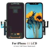 100% Original LCD For iPhone 11 Display Touch Screen Digitizer Complete Assembly Replacements Repair Parts