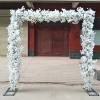 Various Shape Wedding Decoration Arch Cherry Blossom Set( Flower with Frame) For Party Event Centerpieces Supplies
