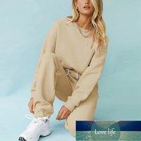 여성 Tracksuits Fleece 후드 스웨터 패션 가을 겨울 숙녀 풀오버 따뜻한 대형 후드 솔리드 재킷 MSFilia