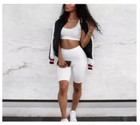 Two Piece Pants Women Crop Tops and Biker Shorts Sweat Suits Sexy Club Outfits Casual Tracksuit Matching Sets