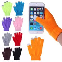 Magic Touch Screen Screen Guanti Smartphone SMS STRETCH ADULTO ADULTO SOLO DUNGES INVERNO WALLER GLOVE GLOVE WLL545
