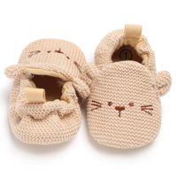 First Walkers 0-18M Infant Toddler Baby Boy Girl Soft Sole Crib Shoes PU Sneaker Prewalker Winter Warm