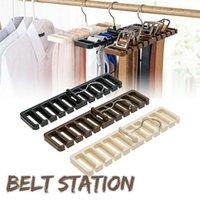 Hangers & Racks Drying Rack Large Belt Storage Hanging Tie Shelf Silk Scarf Hanger Finishing Wardrobe XH8Z