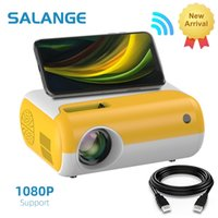 Salange Mini Projector Support Full HD 1080p 2800 Lumens WiFi Video Home Cinema Smart Movie Game Proyector 210609