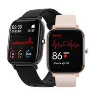 1,4 polegada relógio inteligente homens toque full touch fitness tracker pressão arterial relógio inteligente mulheres gts smartwatch para xiaomi