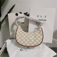 Bags Arch Luxurys Armpit Triumphal 2021 Leather Moon Storage Bags Designers Hand Bag