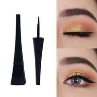 Wasserdichter Eiffelturm Liquid Eyeliner Private Label Wimpern Kosmetik Schwarz Eye Liner Kein blühendes Make-up langlebiges Logo