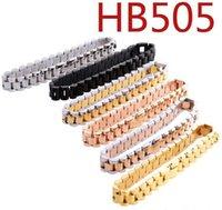 New Men's Designer Bracelets With High Quality Stainless Steel Iced Out Bracelet Luxury Designer Bracciali For W wmtCxy dh_garden