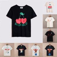 Bayan Erkek Tasarımcılar T Shirt Moda Mektup Baskı Kısa Kollu Lady Tees Lüks Rahat Giyim Giyim