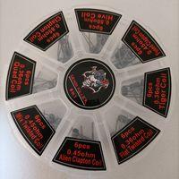 8 in 1 Kit Demon Killer Preconilt Coil 48pcs Ecig Premade Riscaldamento Cavi Resistenza Involucri per il serbatoio Atomizzatore RBA RDTA