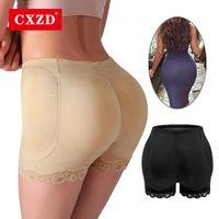 Женские формирователи CXZD Женщины Shaper Magned Bulifter Panty Boinh Enhancer Fake Fake Hip Shapewear Unitewear Трусы Push Up Pushies Plus Размер S-6XL