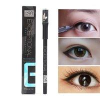 Menow Solide Eyeliner Bleistift mit Spitzer Wasserdicht langlebiges schwarzes Gel weiches glattes mattes Augenliner1