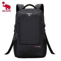 OIWAS повседневная бизнес ноутбук рюкзак мужской мошенчатой многофункциональный водонепроницаемый большой емкость портативный сумка для путешествий 210323