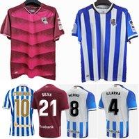 2021 2022 ريال سوسيداد لكرة القدم الفانيلة كوبا ديل ري النهائي إيلارا أويرزابال سيلفا جوانمي ميرينو هوم بعيدا الرجال والأطفال الأولاد 21 22 قميص كرة القدم