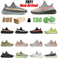 adidas yeezy 350 V2 kanye west 남성 여성 운동화 2021 ash blue sand taupe cinder reflective tail light bred mens trainers sports sneakers