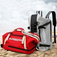Outdoor Bags Men Women Sports Gym Bag Multifunction Fitness Yoga Travel Large Capacity Storage Handbag Breathable Durable Backpack X875B