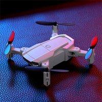 H6 Pro RC Drone ile Geniş Açı HD 4 K 1080 P WIFI FPV Çift Kamera Yüksekliği Tutun Katlanabilir Quadcopter Mini Hediye Oyuncaklar Drones