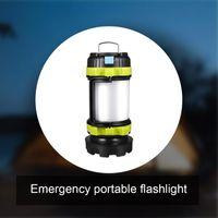 Portatile T6 LED Camping Light Tenda da esterno Lavoro USB Ricaricabile Ricerca impermeabile Lanterne