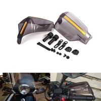 Parts 1Pair Motorcycle Hand Guard Handle Protector Shield Motorbike Motocross Scooter Windproof Handlebar HandGuards Protection Gear