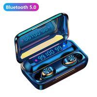 Bluetooth Earphones F9-10 TWS Digital Display Bluetooth 5.0 Wireless In-ear Earphones Sports Earbuds