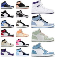 nike air jordan retro 1 jordans Basketball Schuhe mid milan 1s jumpman Männer Frauen mocha obsidian unc low fearless high og Turnschuhe