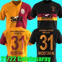 2021 2022 Falcao Galatasaray SK Fussball Jersey Startseite 21 22 TÜRKEI SÜPER LIG DEANDRE YEDLIN Fernandes Mostafa Mohamed Marcelo Saracchi Football Hemden