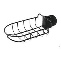 Küchenhahn aus Edelstahl Küchenhahn Halter Anpassungsspüle Caddy Organizer Seifenbürste Spülmaschine Flüssig Abtropfbürste Lagergestell BWD5817