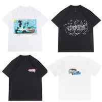 2020ss Ins Hot Travis Scott JackBoys Cactus jack Photo Tee Skateboard Mens t shirts Women Street Casual Tshirt