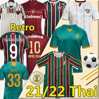 Fluminense 21/22 Jerseys de futebol Ganso Fred Phganso Hudson Nene Nino Henrique Rafael Moura 1989 90 2012 2012 Retro Vintage Camisa de Futebol Clássico Homens Kit Kids