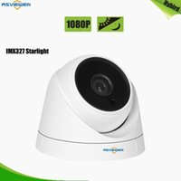 Cameras Starvis Low Noise Sony IMX327 3.6mm Lens Indoor Dome Camera met 2 stks Array LED's en Black Glasses 20m IR Afstand AS-MHD2308RH