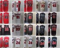 Ja 12 Morant 23 Винс 15 Картер Баскетбол Джерси Скотти 33 Pippen Dennis 91 Родман Ретро Сейф Джерси 2021 Новые Мужские Молодежные Дети Для взрослых