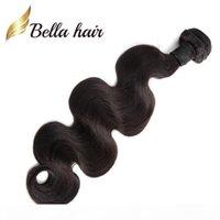 1 조각 브라질 머리 직조 묶음 자연 검은 색 인간의 머리카락 확장 두께 두께 julienchina bellahair vaid julienchina bellahair에 대한