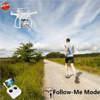 Dual GPS Auto Follow Me Brushless WIFI FPV RC Quadcopter Upair-2 3D+4K Effect Camera 3 Axis Gimbal APP Control Drone Model Drones