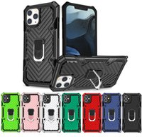 Hybrid Armor Phone Case with Magnetic Kickstand for IPhone 12 11 Pro Max Mini X XR 6 7 8 plus Samsung S20 ultra A10 A30 A21S A51 Note 20