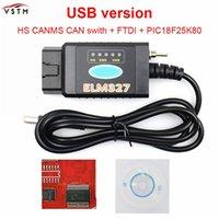 Kodläsare Skanna Verktyg Nesest Elm327 USB FTDI med switch scanner HS CAN och MS SUPER MINI OBD2 v1.5 Bluetooth Elm 327 WiFi