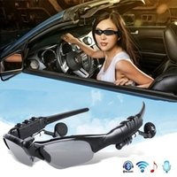 Smart Audio Bluetooth Sunglasses BT5.0 Headphone Glasses Wireless Earbuds support all smarts Phones devices PC Tablets Driving Used