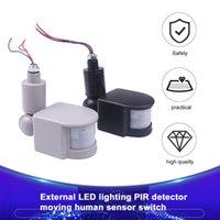 12V 220V Infrared PIR Motion Sensor 180 Degree Wall Light Switch Body Intelligent Latest Smart Home Control