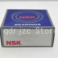 NSK special working condition angular contact ball bearing 7305AB1T35U79A Liquid nitrogen, oxygen, LNG 25mm 62mm 17mm