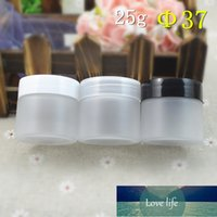 30pcs lot 25g Refillable Bottles Plastic Empty Makeup Frosted Jar Pot Travel Face Cream Lotion Cosmetic Container Factory price expert design Quality Latest Style