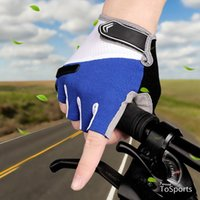 Radfahrenhandschuhe Fahrradstraße Mountainbike Reiten Männer Frauen Halbfinger Kurzer Atmungsaktive Absorption