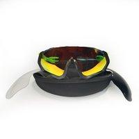 Marke Design Radfahren Sonnenbrille Männer Frauen Outdoor Sports Eyewear Mode Schwarz Polarisierte UV400 Linsen Fahrradfahren Bergfahrrad Gläser 10 Farben