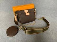 LVLOUISBAGVITTONLV Women Top Stock Handbag Victory Lucky Quality Bag Belt Three #9913 Enough Handbags Bags R5fn Classic Multi Txrr