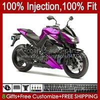 Kawasaki 닌자 Z 1000 R Z1000 2011 2012 2013 년 차체 15no.71 Z-1000 Z1000R 2010-2013 Z-1000R 10 11 12 13 OEM 페어링 키트 핑크 블랙