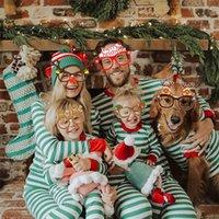 9Pcs Santa Claus Christmas Tree Elk Glasses Prop Christmas Decorations New Year Navidad Kids Gift
